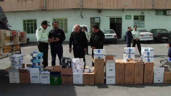 باشگاه خبرنگاران -کشف کالاهای قاچاق خارجی در مراغه