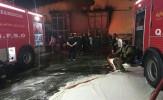 باشگاه خبرنگاران -آتش در منطقه مسکنی کوتشیخ خرمشهر