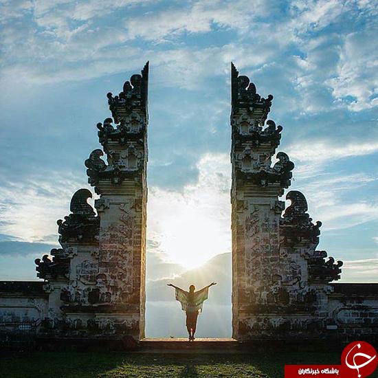 دروازه بهشت را ببینید +عکس