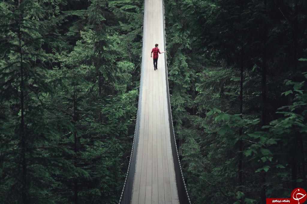 ترسناک ترین پل معلق جهان را ببینید+عکس