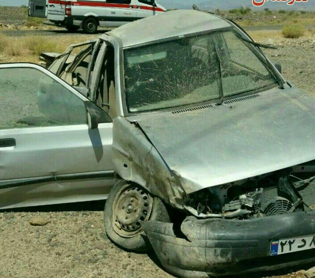 واژگونی خودرو حامل معلمان رودباری