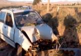 باشگاه خبرنگاران -برخورد شدید پراید با درخت در جاده روستایی امرغان + فیلم