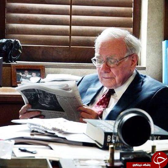 این شخص حرفهایترین کتابخوان جهان است +عکس