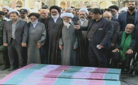 باشگاه خبرنگاران -پیکر مطهر ۳ شهید گمنام دفاع مقدس در قم تشییع شد