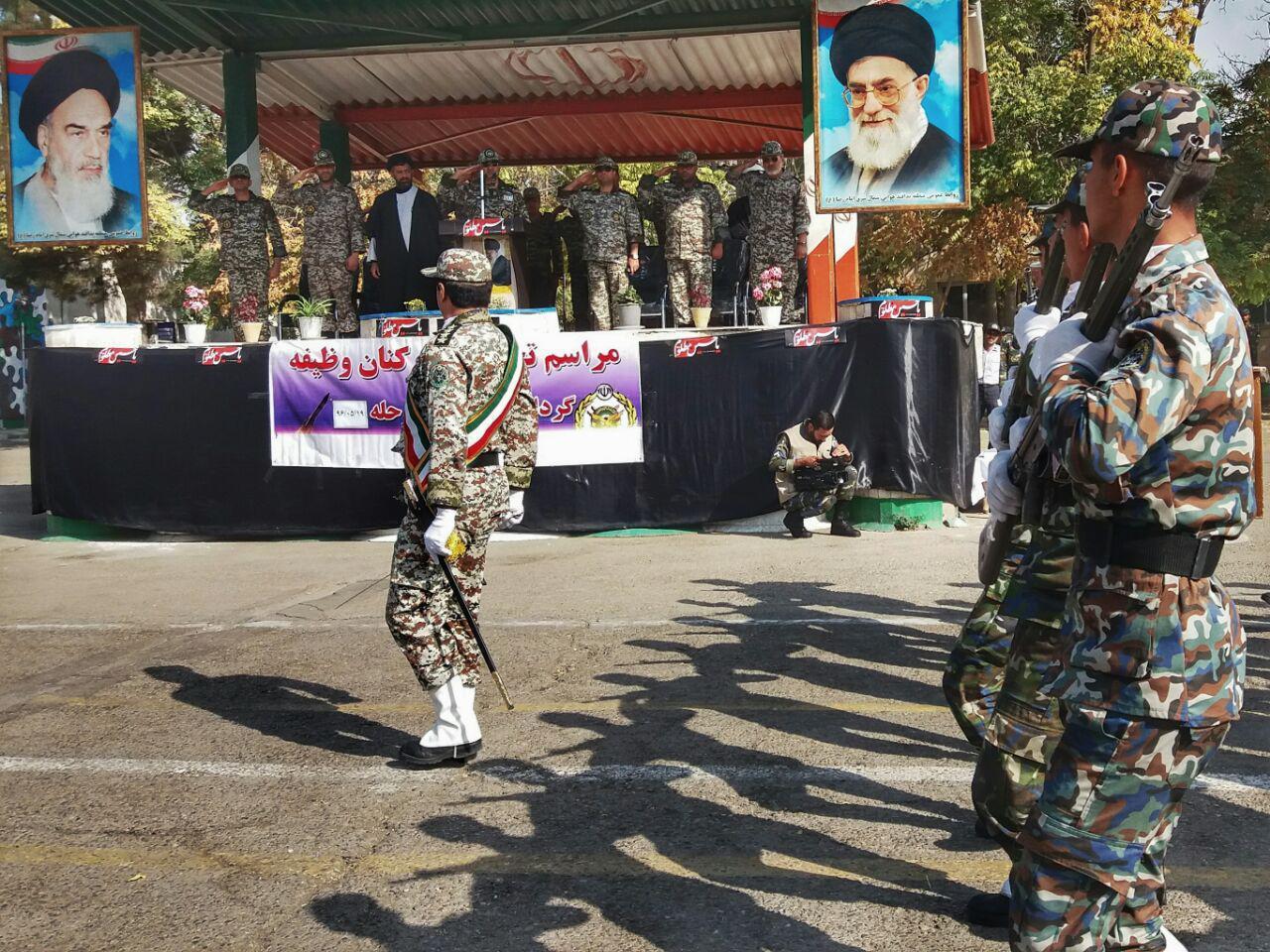 تحلیف کارکنان وظیفه پدافند هوایی شمال شرق کشور در مشهد