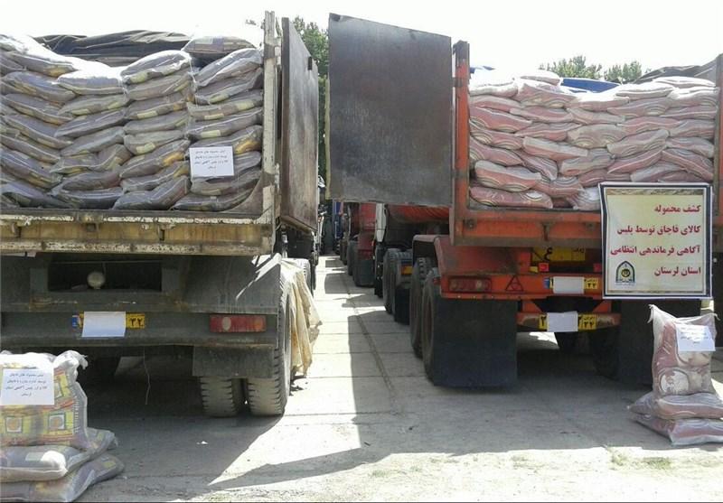 ۱۶ تن برنج قاچاق در عسلویه کشف شد