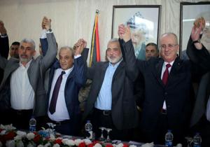 نمایندگان حماس و فتح توافقنامه آشتی ملی امضا کردند