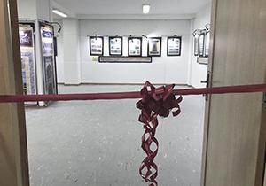 افتتاح نگارخانه استاد مجید چیزفهم در مُهر