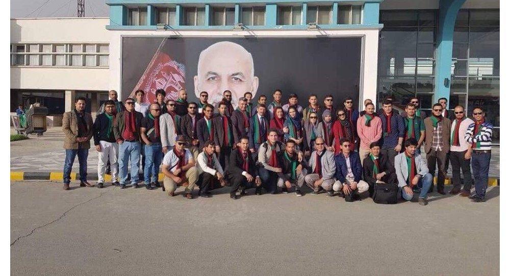 حضور 44 جوان افغانستانی در فستیوال جوانان و دانشجویان روسیه