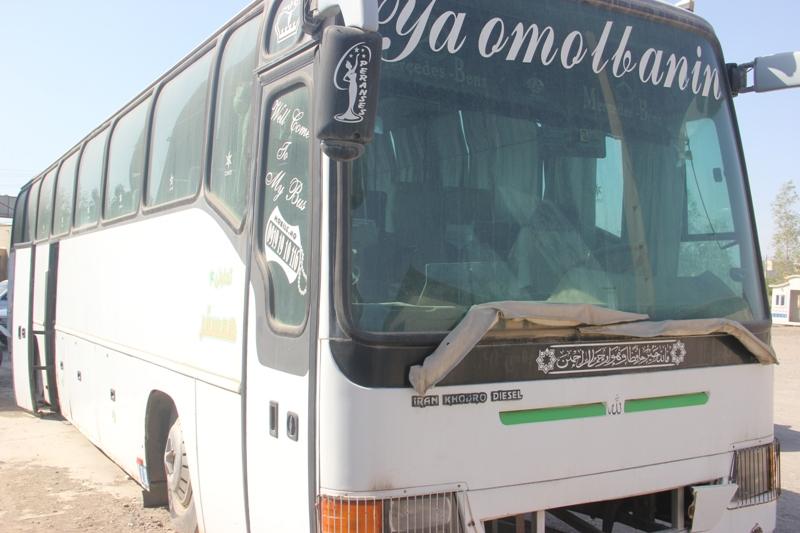اتوبوس حامل کالای قاچاق به مقصد نرسید