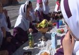باشگاه خبرنگاران -مراسم صبحانه سالم در مدارس مهاباد