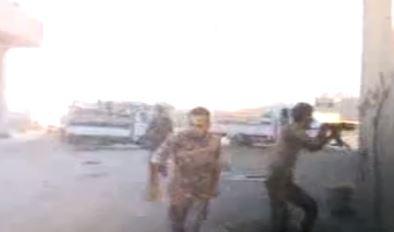 لحظه حمله به گروه خبری سازمان صدا و سیما +فیلم