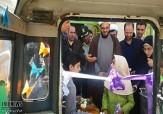 باشگاه خبرنگاران -افتتاح کتابخانه سیار روستایی در تکاب