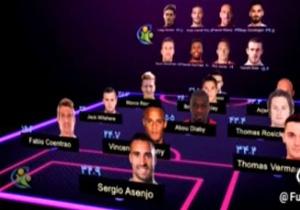 نمایش تیم منتخبی از بازیکنانی که زیاد مصدوم میشوند در فوتبال 120 مورخ 20 مهر 96 +فیلم
