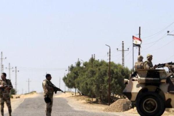 کشته شدن 6 نظامی مصر در حمله افراد مسلح