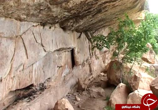 سنگ نگارههای غار میرملاس نشانه وجود تمدنی باستانی در لرستان/ تخریب این نقوس در سالهای اخیر+ تصاویر
