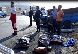 ۲ کشته در تصادف رانندگی جاده گچساران -باشت