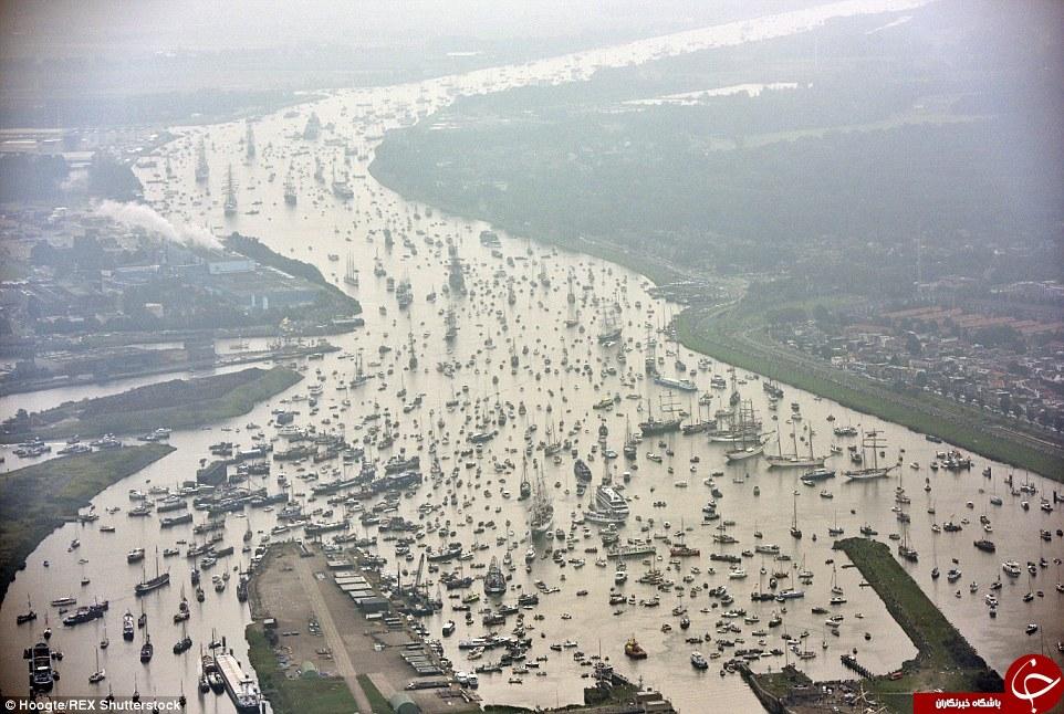 عکس ترافیک زندگی در هلند توریستی هلند اخبار هلند