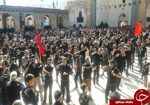 آیین جمعه نشلجی ها در مشهد اردهال کاشان برگزار شد