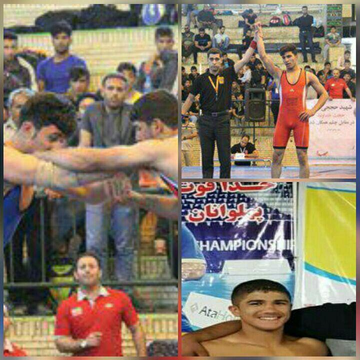 درخشش کشتی استان در مسابقات قهرمانی جوانان کشور