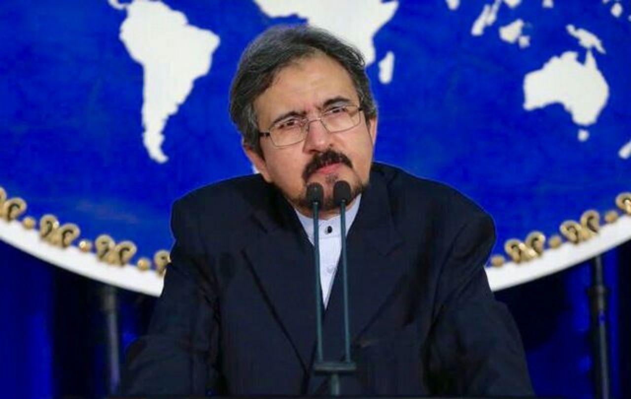 قاسمی دیدار وزیر خارجه ایران و آمریکا را تکذیب کرد