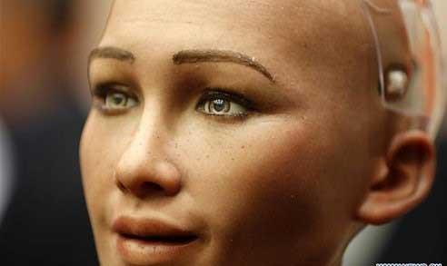 اولین و مدرن ترین ربات زن در مقر سازمان ملل متحد +تصاویر