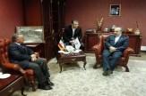 باشگاه خبرنگاران -دیدار وزیر ورزش و جوانان با رئیس فدراسیون جهانی بدنسازی و پرورش اندام