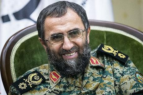 واکنش جالب سردار باقرزاده به تهدیدات ترامپ و نتانیاهو +عکس