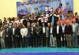 باشگاه خبرنگاران -پایان رقابت های کشتی آزاد قهرمانی جوانان کشور در اردبیل