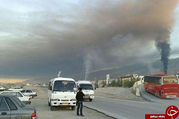 وضعیت اسفبار آلودگی هوا در عسلویه + تصاویر
