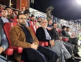 باشگاه خبرنگاران -گزارش تصویری از حضور عبدالله در مسابقه لیگ برتر فوتبال افغانستان