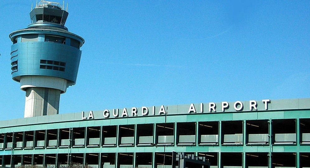 باشگاه خبرنگاران -تخلیه ترمینال فرودگاه «لاگاردیا» در نیویورک