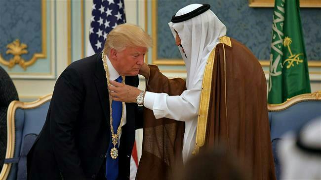 پادشاه سعودی از راهبرد ترامپ علیه ایران استقبال کرد