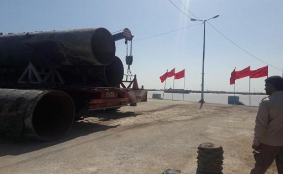 باشگاه خبرنگاران -آغازعملیات بازسازی پل بعثت در اروندکنار