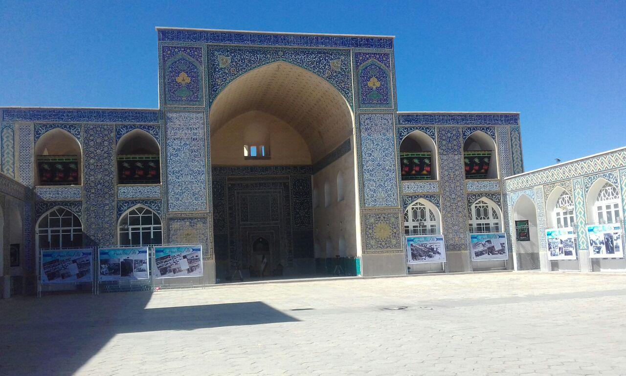 ملی شدن شعار مسجد جامع کرمان