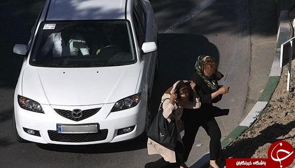 پاتوق زنان تنفروش در خیابان فرهنگ + تصاویر