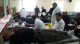 باشگاه خبرنگاران -اهدای 99 هزار سی سی خون توسط عزادارن شهر دمق