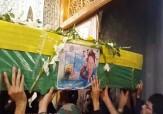 باشگاه خبرنگاران -مراسم تشییع و خاکسپاری شهید مدافع حرم در «آران و بیدگل» + فیلم