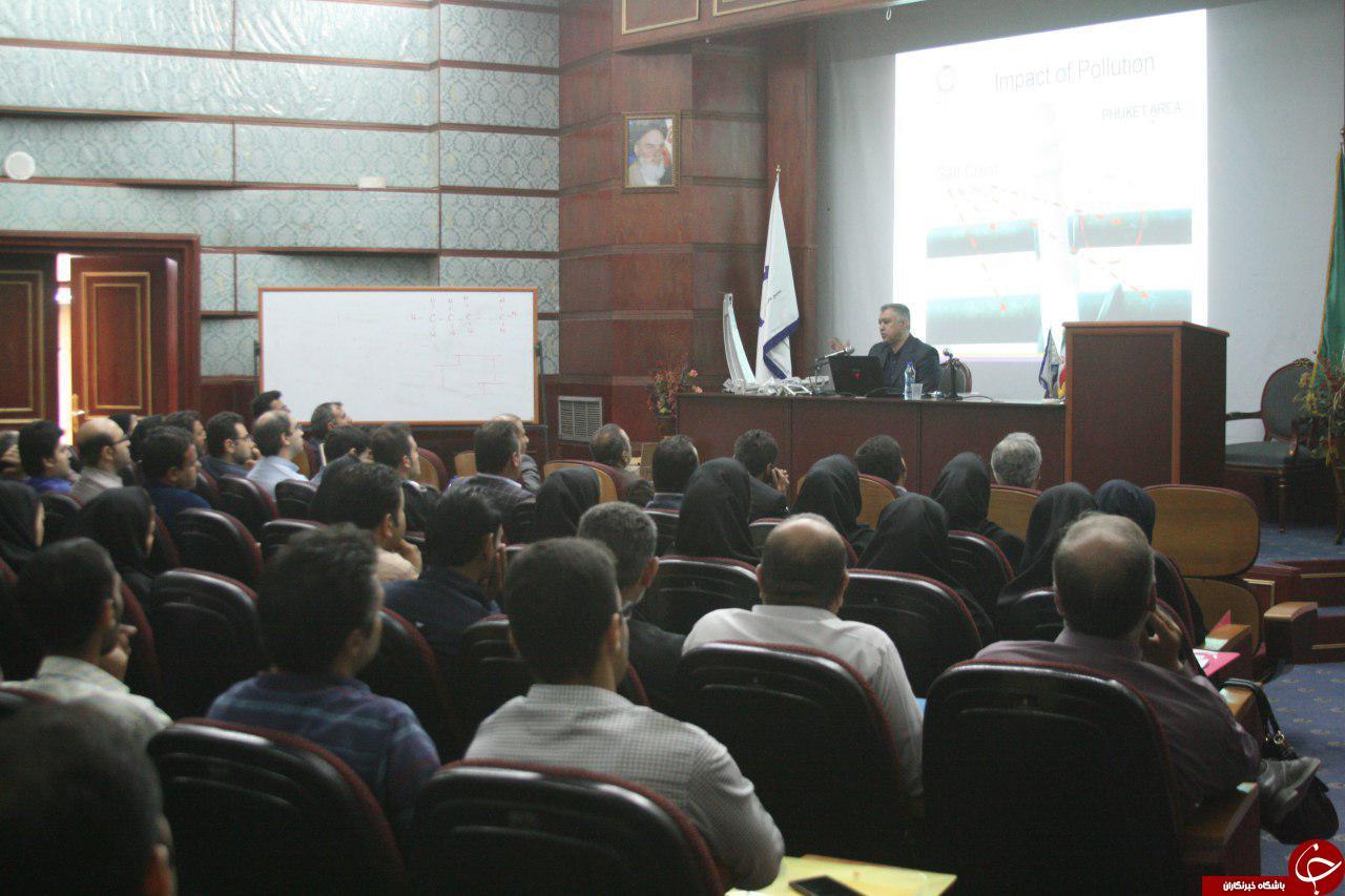 باشگاه خبرنگاران -کارگاه آموزشی شبکه هوایی کابل فاصله دار فشار متوسط در اهواز