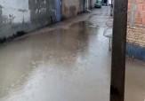 باشگاه خبرنگاران -بارش باران و آبگرفتگی خیابان در بهشهر + فیلم