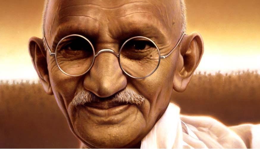 تمبر گاندی در ایران به فروش می رسد
