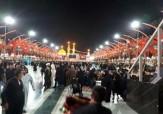 باشگاه خبرنگاران -حال و هوای زائرین حسینی در بینالحرمین + تصاویر