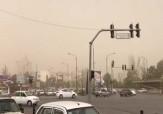 باشگاه خبرنگاران -نمایی از آسمان غبارآلود در مشهد + فیلم