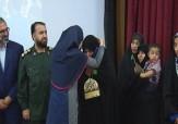 باشگاه خبرنگاران -مدال غزل بر گردن مادر شهید حججی درخشید