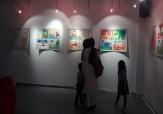 باشگاه خبرنگاران -نمایشگاه نقاشی نوجوان شاهرودی در گالری سیب