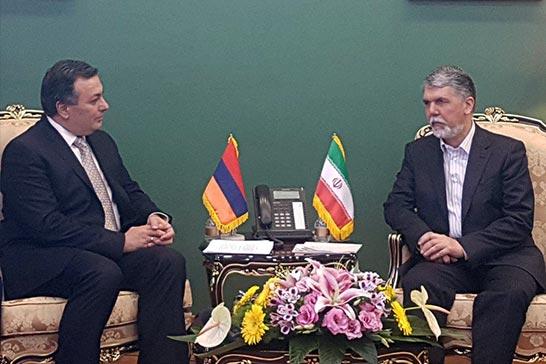 اميدواريم توافقنامه ایران و ارمنستان در حوزه سینما اجرايى شود