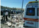 باشگاه خبرنگاران -برخورد شدید تریلر با چندین خودروی سواری در اتوبان کسایی تبریز