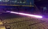 باشگاه خبرنگاران -گرده با قطر ۲۵۰ میلیمتر در ذوب آهن اصفهان تولید شد