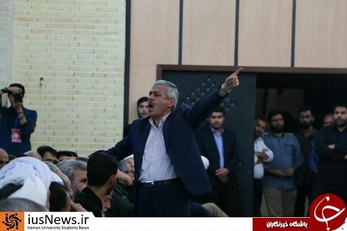 اقدام تاملبرانگیز یک نماینده مجلس در حضور خانواده شهید حججی +تصاویر