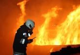 باشگاه خبرنگاران - آتش سوزی کارخانه تولید لوازم پلاستیکی